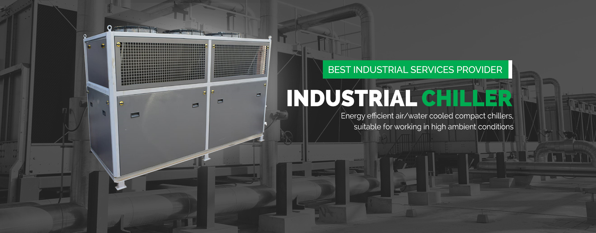 Industrial Water Chiller in Bangladesh, South Africa, Turkey, Egypt, UAE, Qatar, Kuwait, Oman